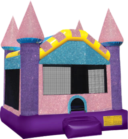 Dazzling Castle Bounce House Rental