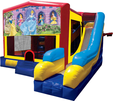 Disney Princess 2 Modular Bouncer Slide 1000