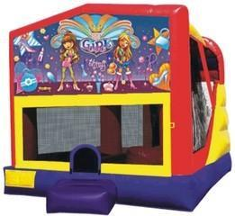 Girl Thing Fun House Inside Slide Hoop
