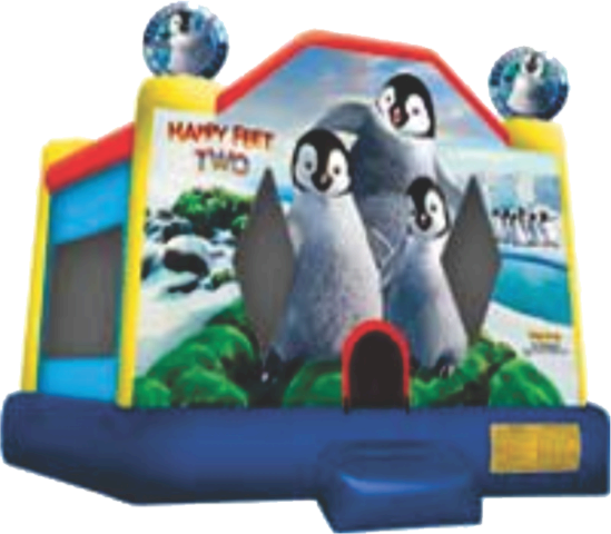 Happy Feet Bounce House Rental