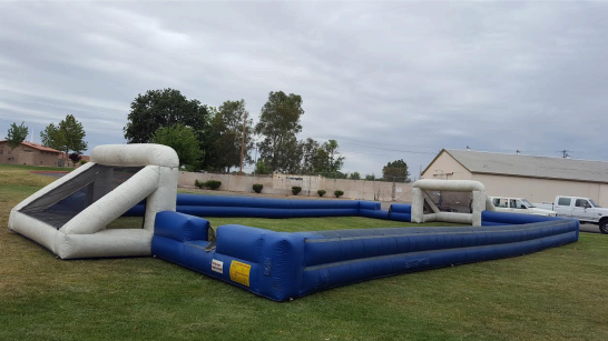 Inflatable Soccer Field Rental