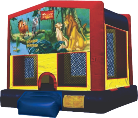 Fun House Lion King  Bouncer 28