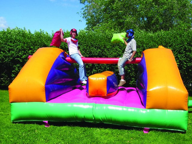 Inflatable Pillow Fight
