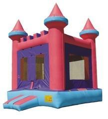 Pink Princess Bounce House