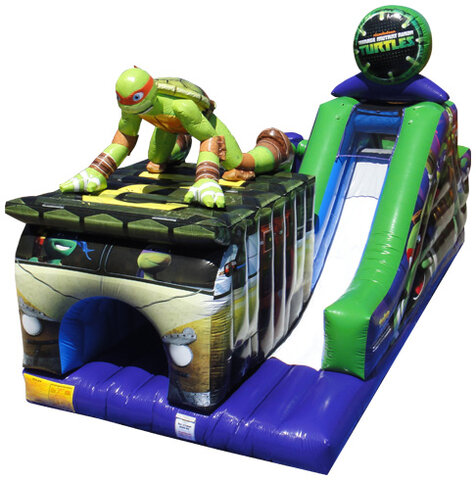 Teenage Mutant Ninja Turtles Challenge Obstacle Course