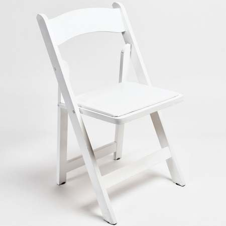 White Resin Chairs