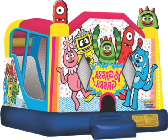 Yo Gabba Gabba Slide Bouncer