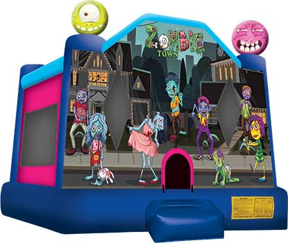 Zombie Town Bounce House Rental