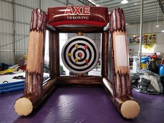 Ax Throwing Inflatable Game