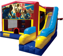 Basketball Slam Dunk 31 Bounce House Slide 1000