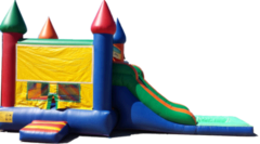 Castle Water Slide Bounce House with Pool 102