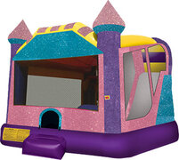 Dazzling Castle Slide Bouncer