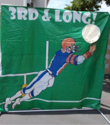 Football Toss Frame Game