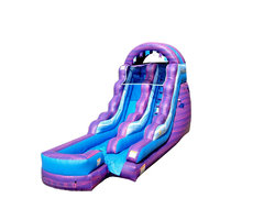 Cotton Candy Water Slide Rental