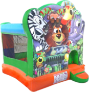 Small Jungle Jump Bounce House Rental