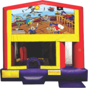 Lil Pirates Fun House Bouncer Slide 400