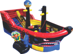 Lil Pirates Ship Bounce House