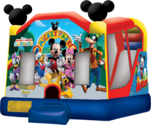 Mickey Park Slide Bounce House Combo