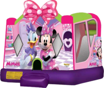 Minnie Mouse Water Slide Bounce House Combo