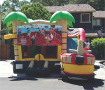 Pirate Ship Bounce House Adventure