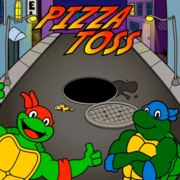 Pizza Toss Frame Game