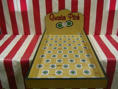 Quarter Pitch Carnival Game Rental