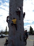 Mobile Rock Wall Rental