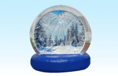 The Human Snow Globe Rental