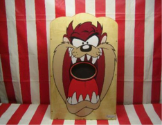Tazmanian Devil  Been Bag Toss Carnival Game