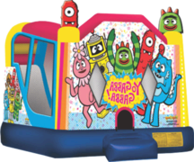 Yo Gabba Gabba Water Slide  Bounce House