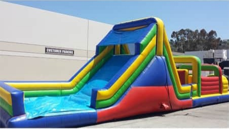 52 Foot Obstacle Course