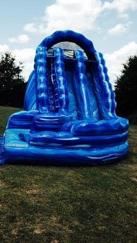 19ft  Blue Blast Curvy-dual lane