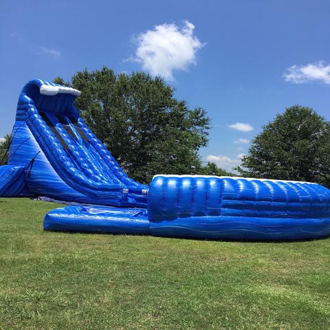 BLUE MONSTER 32' WATERSLIDE