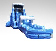 TSUNAMI 22' WATERSLIDE 50ft long!!!!!!!