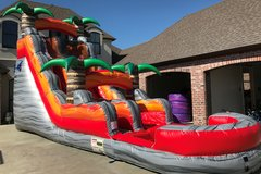LAVA CRUSH 18' WATERSLIDE