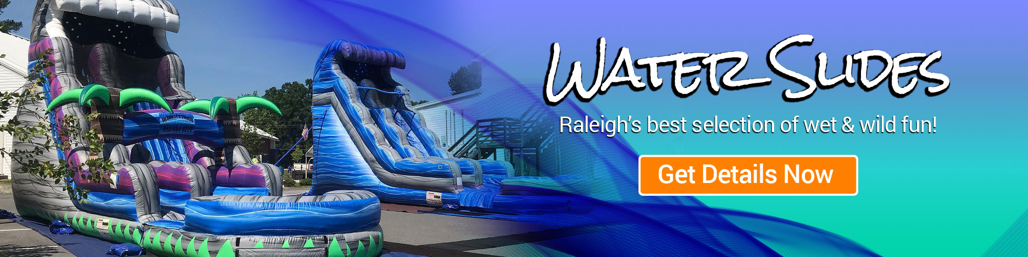 Raleigh Water Slide Rentals