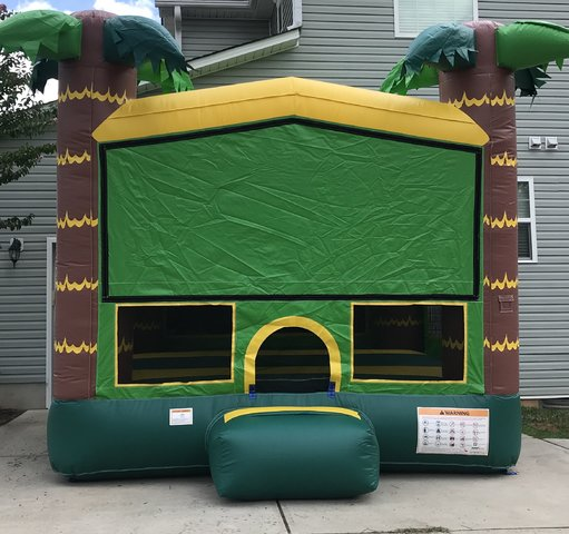 Aloha Tropical Bounce House (Medium)
