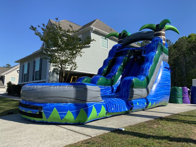 17ft Blue Crush Waterslide