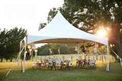 Tent, Chair, & Table Package