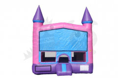 Pink/Purple Bounce House (Medium)