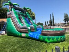 17ft Rainforest Waterslide