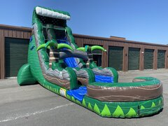 24ft Emerald Crush Tsunami Waterslide