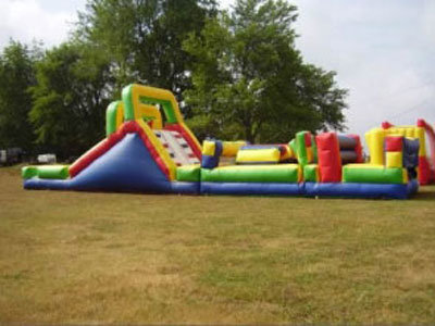 55 Foot Obstacle Course