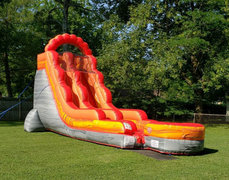 18 Foot Lava Waterslide