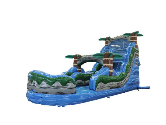 20 FT. TROPICAL BLUE THUNDER WATER SLIDE