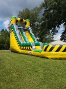 18Ft TOXIC DROP WATER SLIDE!!!
