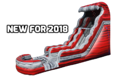 NEW FOR 2018!!! 22ft LIQUID HOT MAGMA WATER SLIDE!