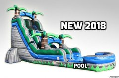22FT CASCADE CRUSH WATER SLIDE!
