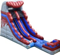 16ft Red Hot Water Slide!  Coming soon new for 2021!!