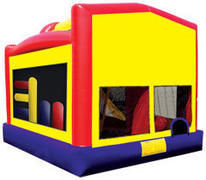 Superman 5in1 combo bounce house